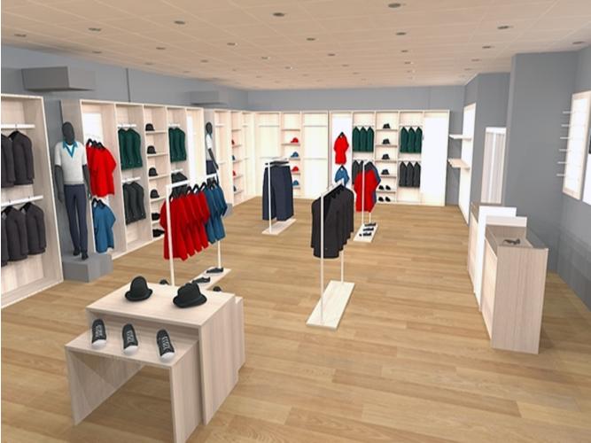 Mesas y expositores mobiliario para tiendas comercios y - Mobiliario para negocios ...